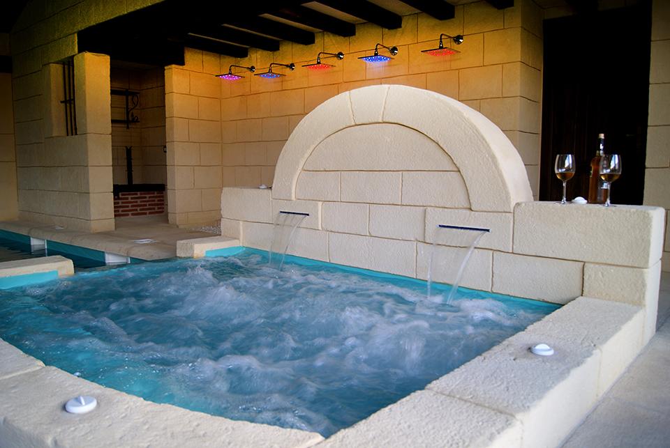 Casa rural con piscina en salamanca piscina climatizada y spa - Casa rural almeria jacuzzi ...