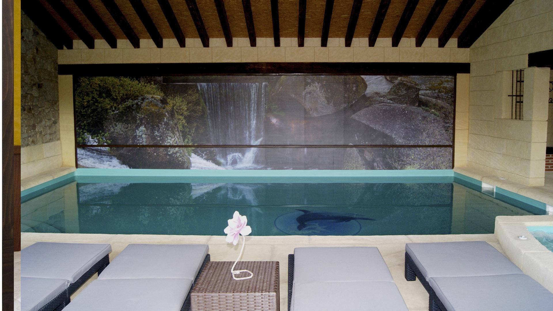 Casa con piscina climatizada la cugulada la serreta casa en venta en cali ciudad jardin - Casa rural piscina climatizada interior ...